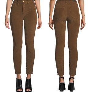 BlankNYC Brown Corduroy Sandman Hi Rise Jeans